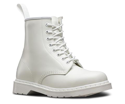 1460 Mono White Smooth